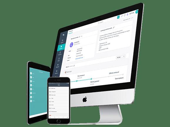 CRM Teamleader klantenbeheer gratis testen